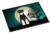 Halloween Scary Standard Schnauzer Salt and Pepper Indoor or Outdoor Mat 24x36 BB2223JMAT - the-store.com