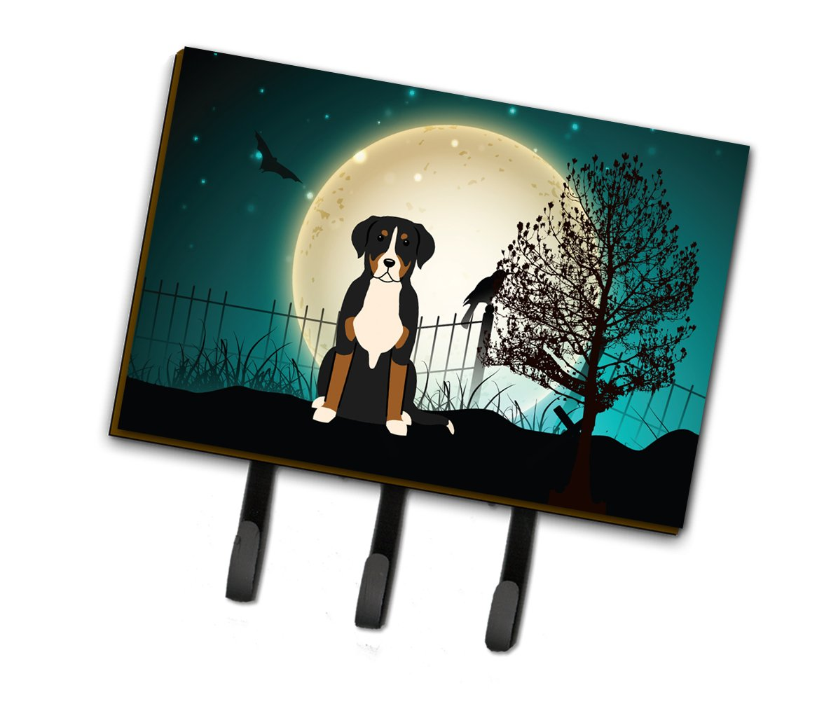 Halloween Scary Greater Swiss Mountain Dog Leash or Key Holder BB2227TH68 by Caroline's Treasures