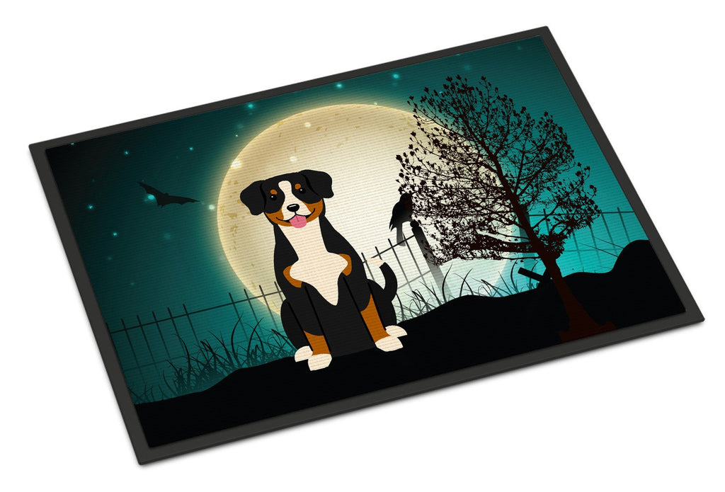 Buy this Halloween Scary Entlebucher Indoor or Outdoor Mat 18x27 BB2228MAT