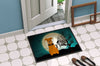 Halloween Scary Airedale Indoor or Outdoor Mat 24x36 BB2231JMAT - the-store.com