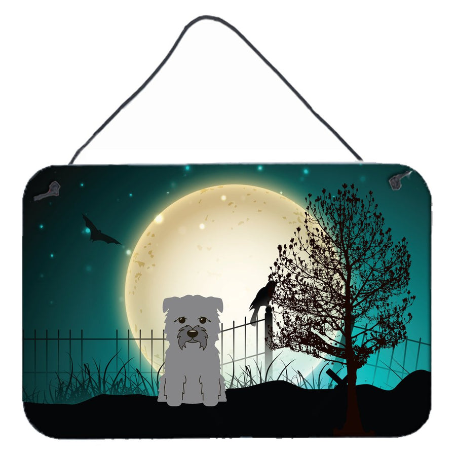 Buy this Halloween Scary Glen of Imal Grey Wall or Door Hanging Prints BB2249DS812