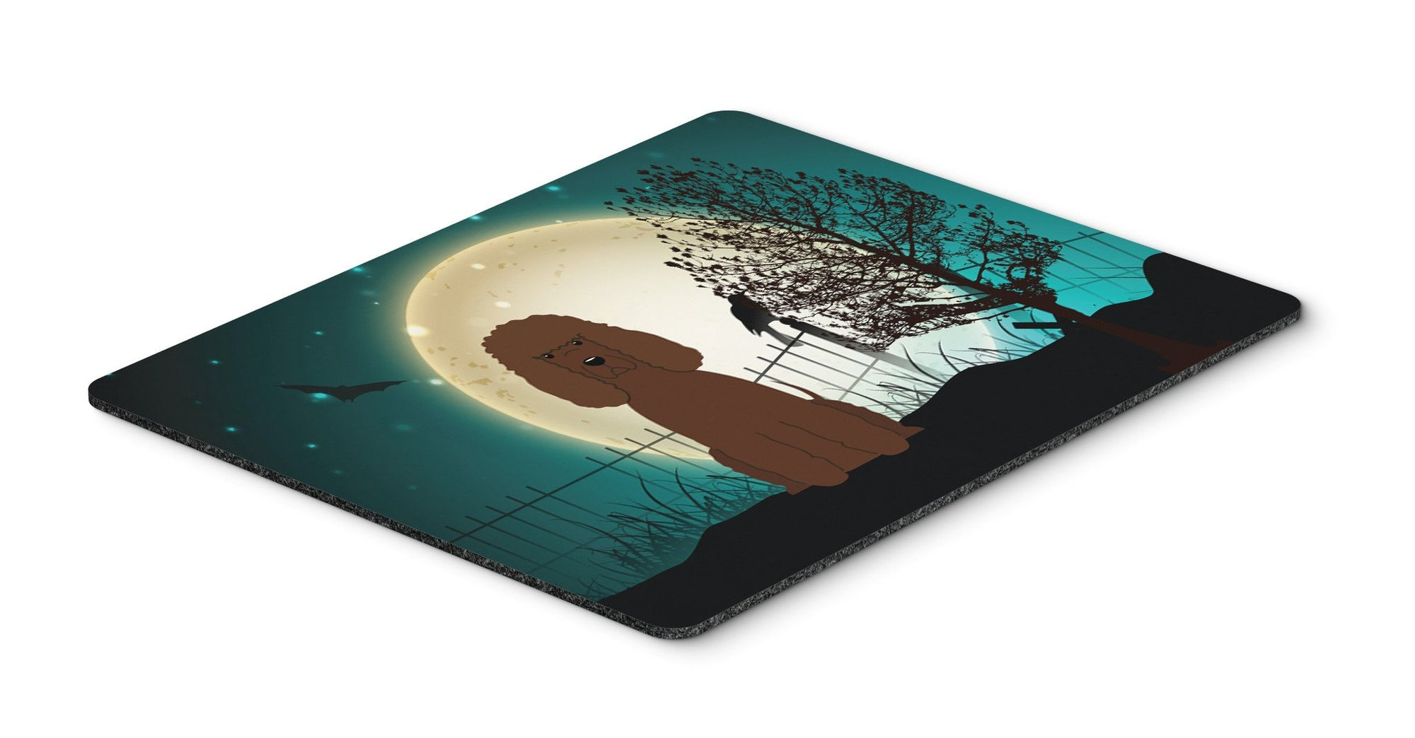Halloween Scary Irish Water Spaniel Mouse Pad, Hot Pad or Trivet BB2253MP by Caroline's Treasures
