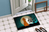 Halloween Scary Irish Setter Indoor or Outdoor Mat 24x36 BB2254JMAT - the-store.com
