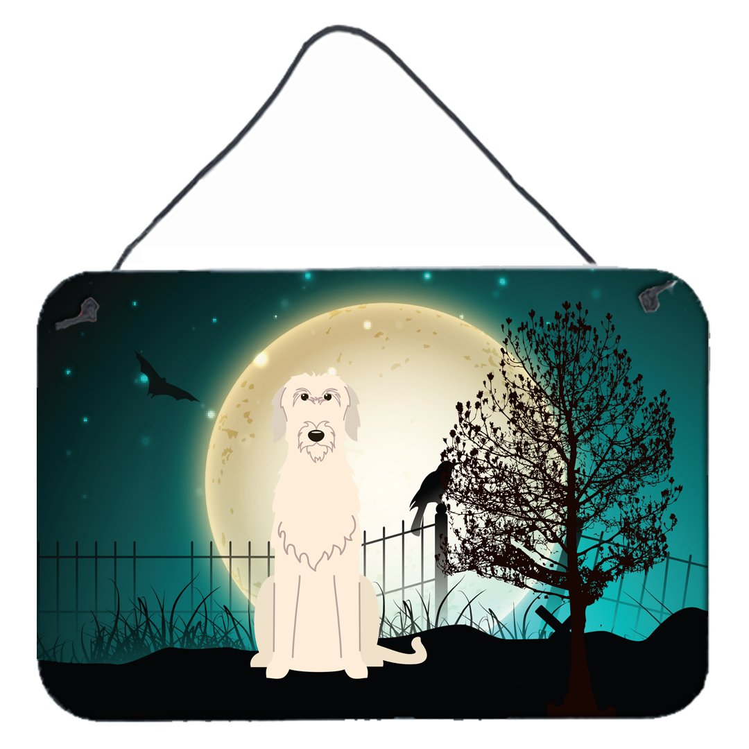 Buy this Halloween Scary Irish Wolfhound Wall or Door Hanging Prints BB2255DS812