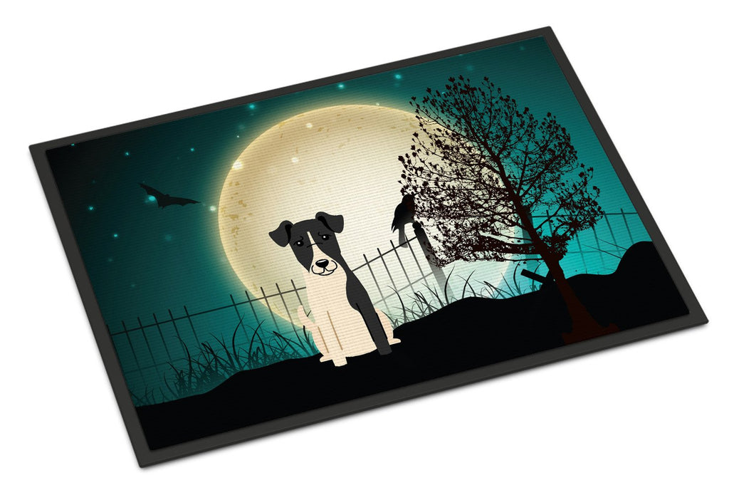 Buy this Halloween Scary Smooth Fox Terrier Indoor or Outdoor Mat 18x27 BB2288MAT