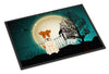 Halloween Scary Wire Fox Terrier Indoor or Outdoor Mat 24x36 BB2291JMAT - the-store.com