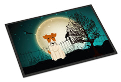 Buy this Halloween Scary Wire Fox Terrier Indoor or Outdoor Mat 24x36 BB2291JMAT