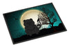 Halloween Scary Chow Chow Black Indoor or Outdoor Mat 24x36 BB2333JMAT - the-store.com