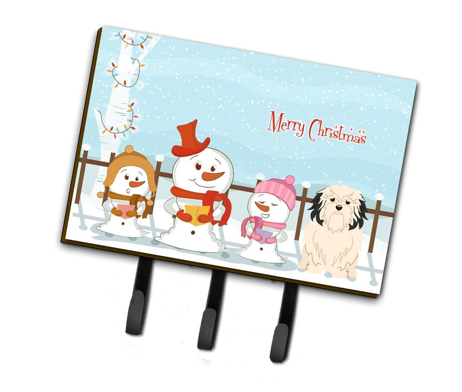 Buy this Merry Christmas Carolers Lowchen Leash or Key Holder