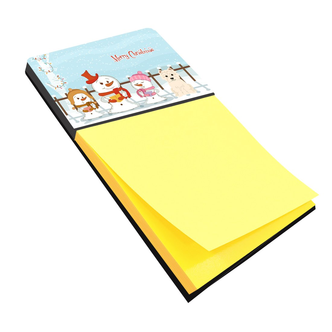 Buy this Merry Christmas Carolers Westie Sticky Note Holder BB2373SN