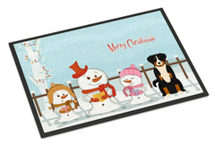 Buy this Merry Christmas Carolers Appenzeller Sennenhund Indoor or Outdoor Mat 24x36 BB2374JMAT