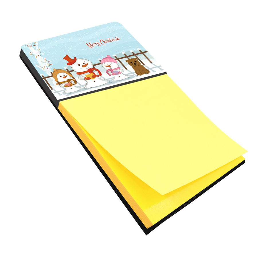 Buy this Merry Christmas Carolers Glen of Imal Tan Sticky Note Holder BB2391SN
