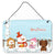 Buy this Merry Christmas Carolers Dachshund Red Brown Wall or Door Hanging Prints BB2461DS812