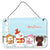 Buy this Merry Christmas Carolers Dachshund Chocolate Wall or Door Hanging Prints BB2462DS812