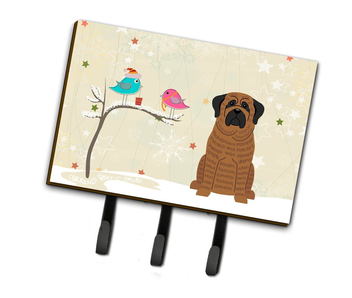 Buy this Christmas Presents between Friends Mastiff Brindle Leash or Key Holder BB2487TH68
