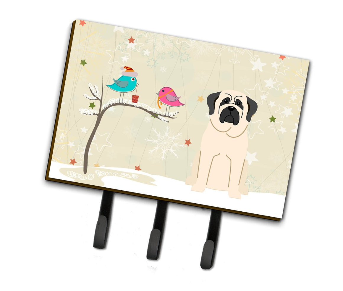 Buy this Christmas Presents between Friends Mastiff White Leash or Key Holder BB2489TH68