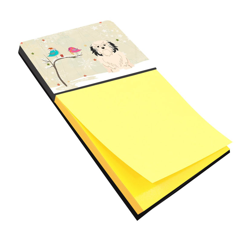 Buy this Christmas Presents between Friends Lowchen Sticky Note Holder BB2491SN