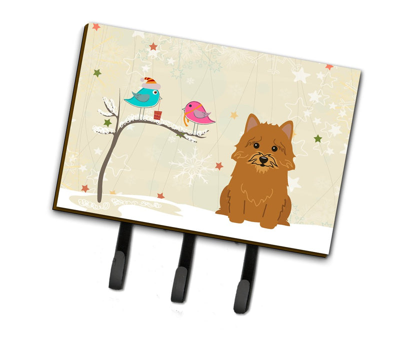 Buy this Christmas Presents between Friends Norwich Terrier Leash or Key Holder BB2492TH68