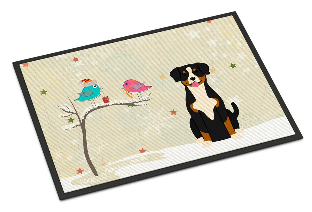 Buy this Christmas Presents between Friends Entlebucher Indoor or Outdoor Mat 18x27 BB2510MAT