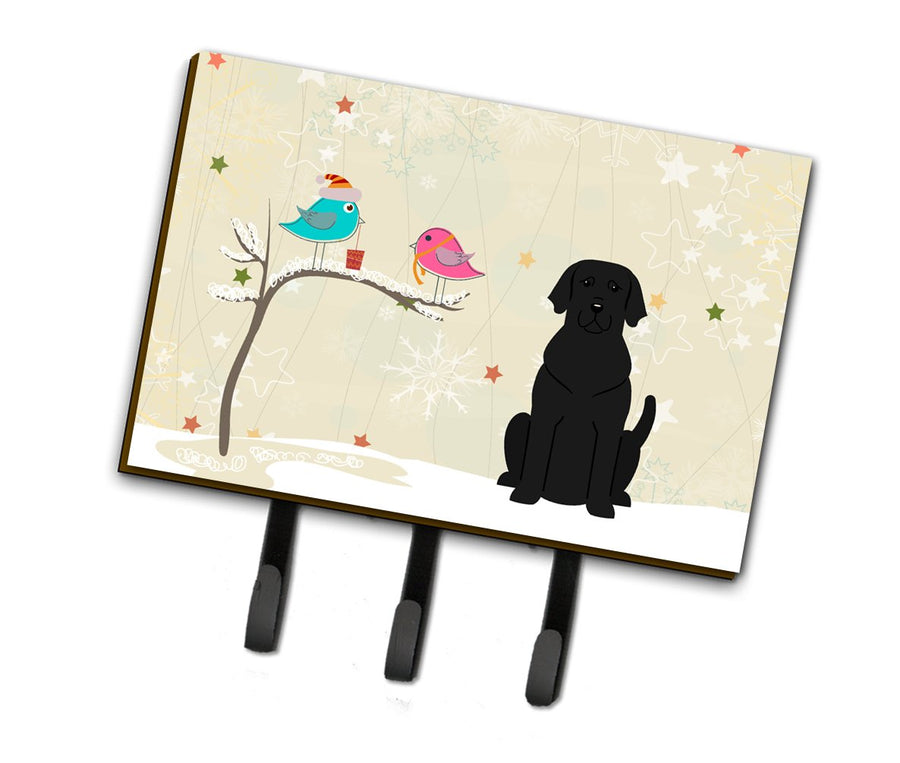 Buy this Christmas Presents between Friends Black Labrador Leash or Key Holder BB2529TH68
