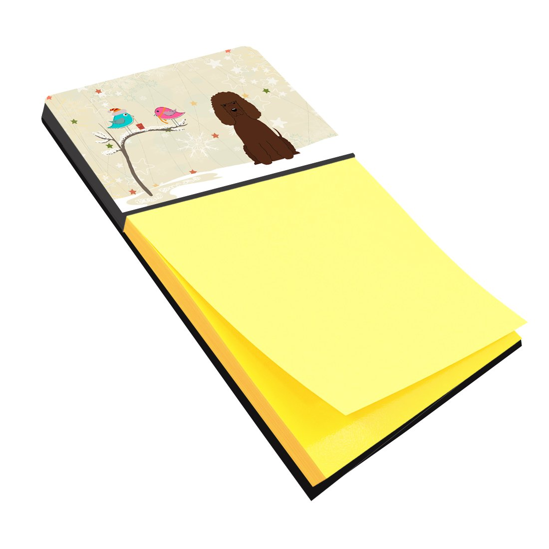 Buy this Christmas Presents between Friends Irish Water Spaniel Sticky Note Holder BB2535SN