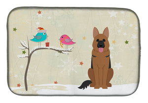 Buy this Christmas Presents between Friends German Shepherd Dish Drying Mat BB2539DDM