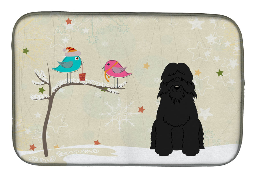 Buy this Christmas Presents between Friends Bouvier des Flandres Dish Drying Mat BB2546DDM