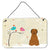 Buy this Christmas Presents between Friends Briard Brown Wall or Door Hanging Prints BB2554DS812