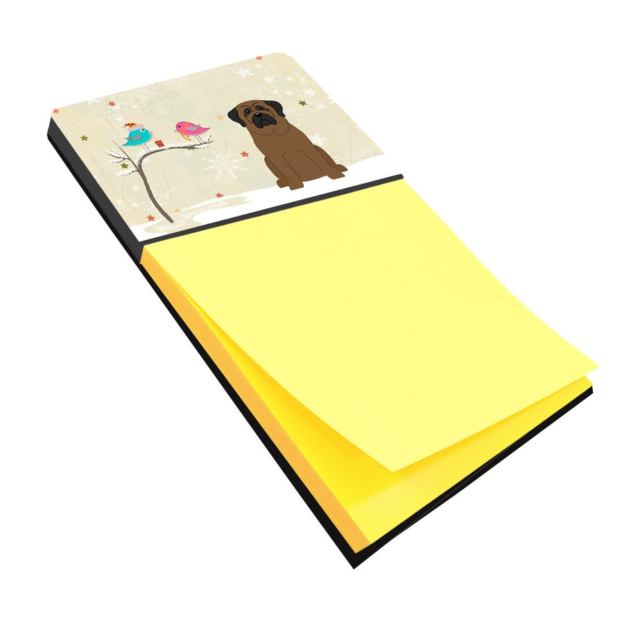 Buy this Christmas Presents between Friends Bullmastiff Sticky Note Holder BB2556SN
