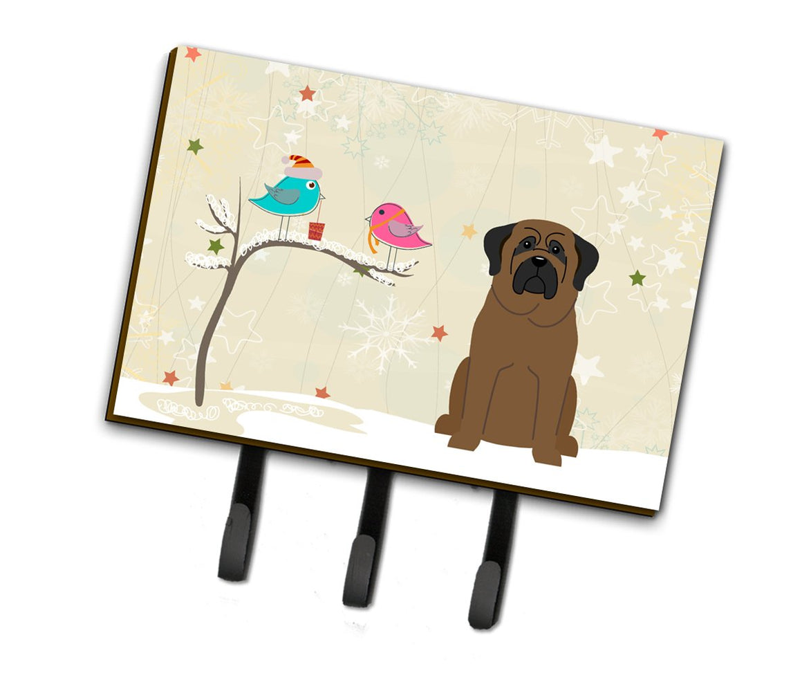 Buy this Christmas Presents between Friends Bullmastiff Leash or Key Holder BB2556TH68