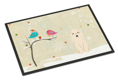 Buy this Christmas Presents between Friends Bedlington Terrier Sandy Indoor or Outdoor Mat 24x36 BB2563JMAT
