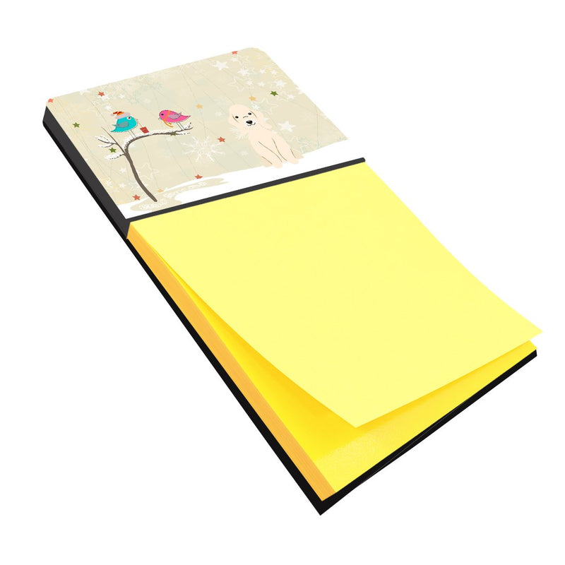 Buy this Christmas Presents between Friends Bedlington Terrier Sandy Sticky Note Holder BB2563SN
