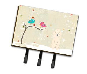 Buy this Christmas Presents between Friends Bedlington Terrier Sandy Leash or Key Holder BB2563TH68