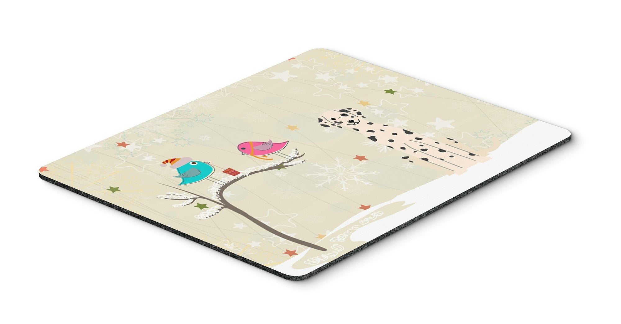 Christmas Presents between Friends Dalmatian Mouse Pad, Hot Pad or Trivet BB2569MP by Caroline's Treasures