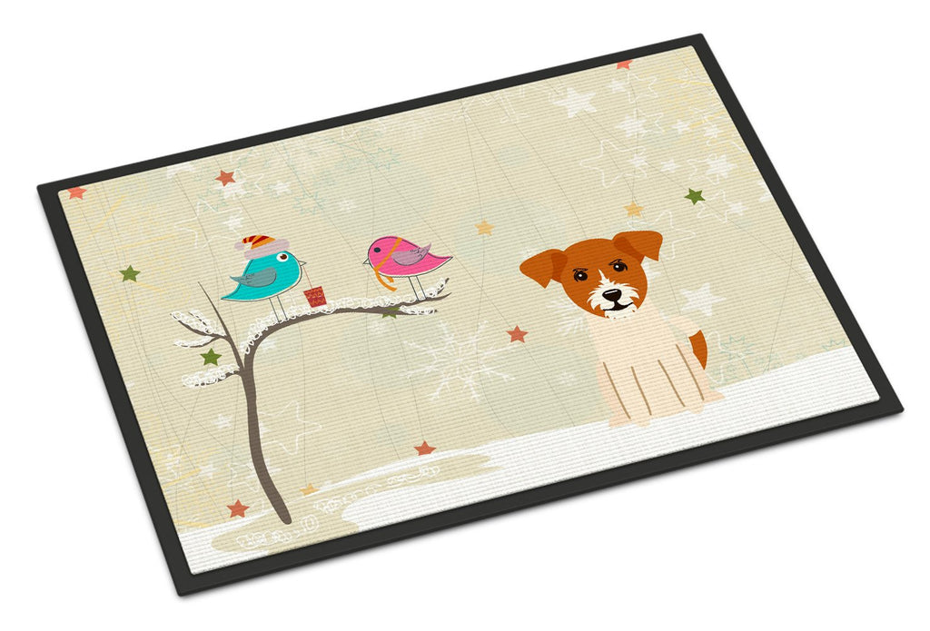 Buy this Christmas Presents between Friends Jack Russell Terrier Indoor or Outdoor Mat 18x27 BB2580MAT