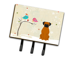 Buy this Christmas Presents between Friends Fawn Boxer Leash or Key Holder BB2587TH68