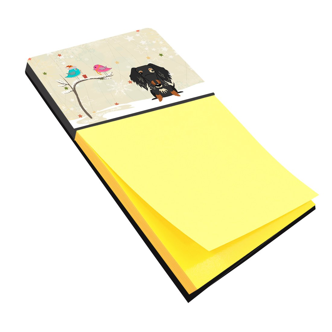 Buy this Christmas Presents between Friends Wire Haired Dachshund Dapple Sticky Note Holder BB2600SN