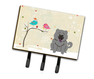 Buy this Christmas Presents between Friends Chow Chow Blue Leash or Key Holder BB2611TH68