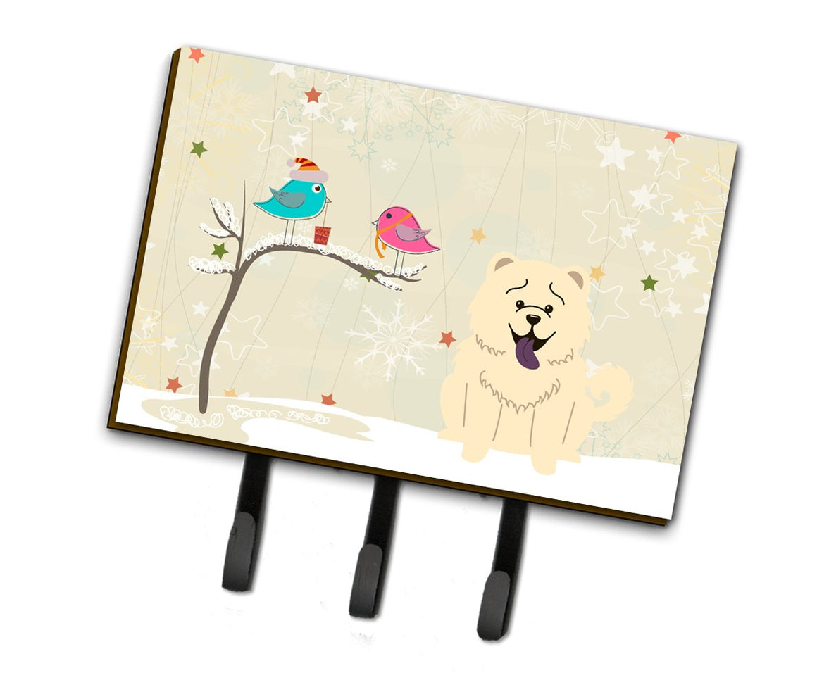 Buy this Christmas Presents between Friends Chow Chow White Leash or Key Holder BB2612TH68