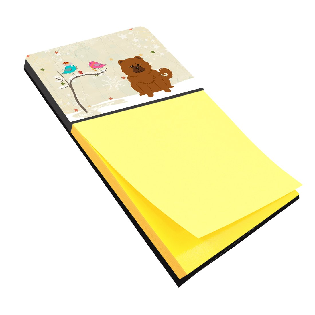 Buy this Christmas Presents between Friends Chow Chow Red Sticky Note Holder BB2614SN
