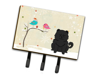 Buy this Christmas Presents between Friends Chow Chow Black Leash or Key Holder BB2615TH68