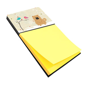 Buy this Christmas Presents between Friends Chow Chow Cream Sticky Note Holder BB2616SN