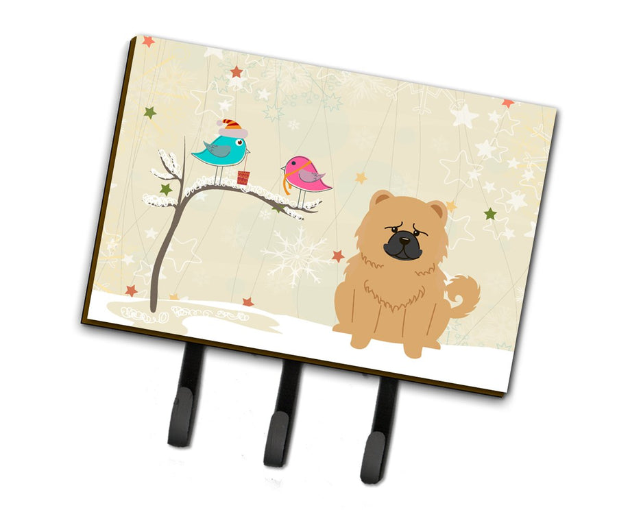 Buy this Christmas Presents between Friends Chow Chow Cream Leash or Key Holder BB2616TH68