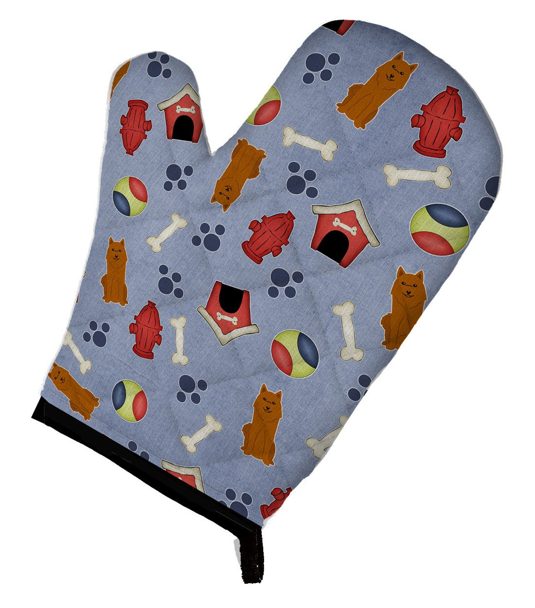 Dog House Collection Karelian Bear Dog Oven Mitt BB2635OVMT by Caroline's Treasures
