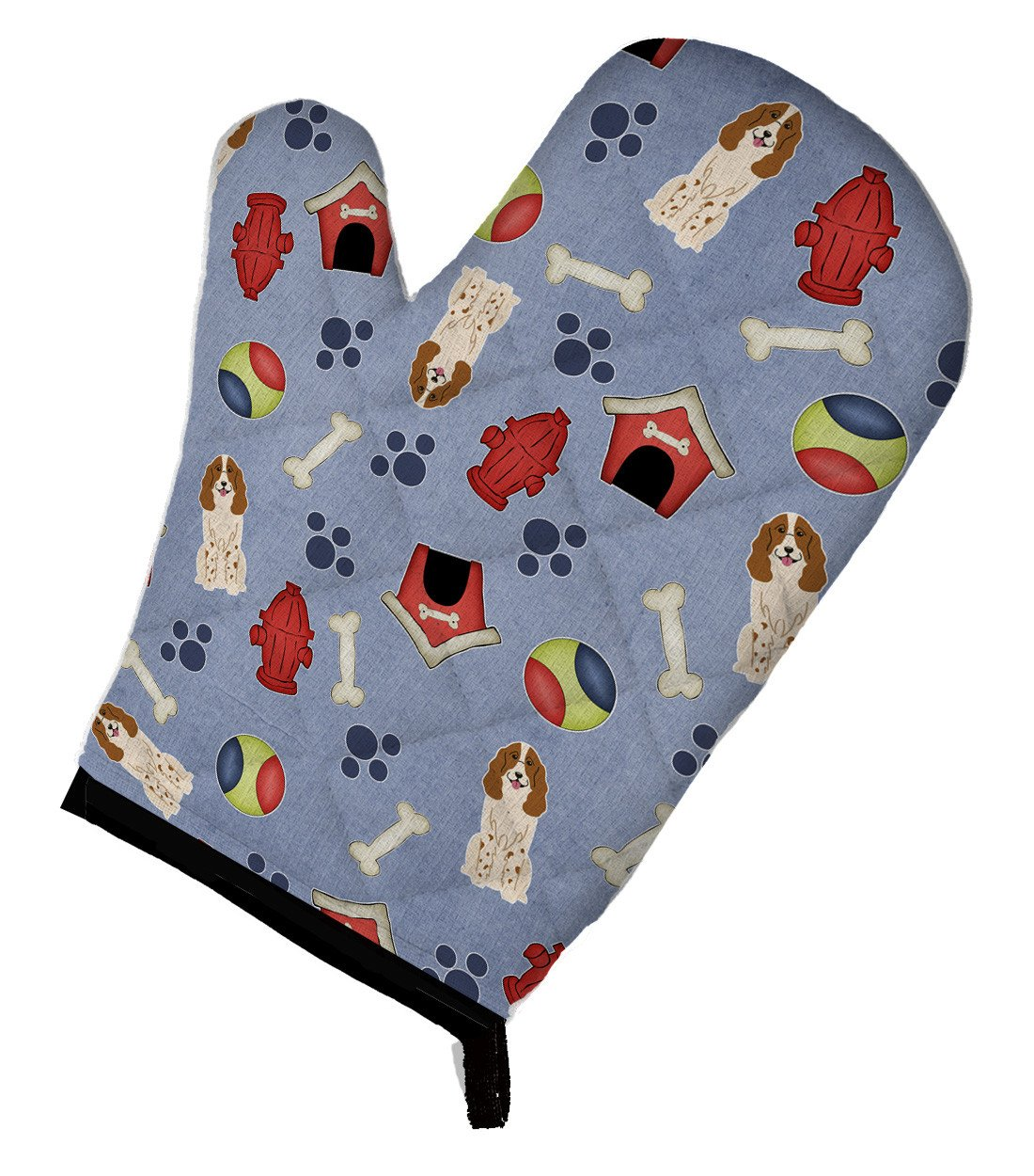 Dog House Collection Russian Spaniel Oven Mitt BB2644OVMT by Caroline's Treasures