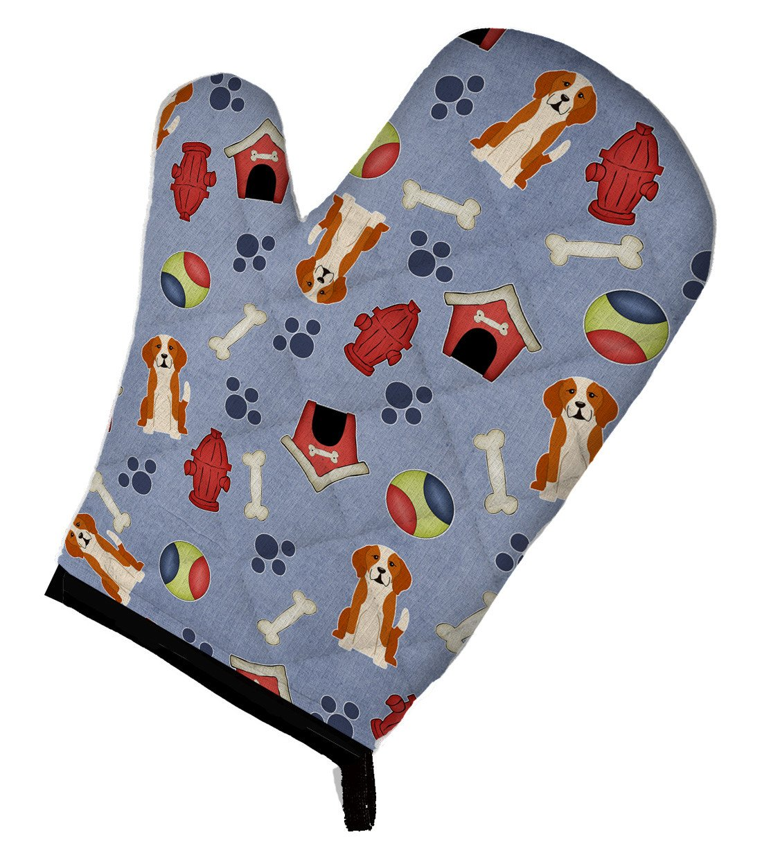 Dog House Collection English Foxhound Oven Mitt BB2723OVMT by Caroline's Treasures