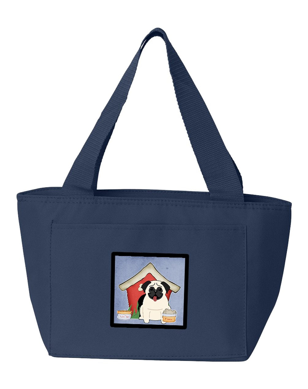 Dog House Collection Pug Cream Lunch Bag BB2758NA-8808 by Caroline's Treasures