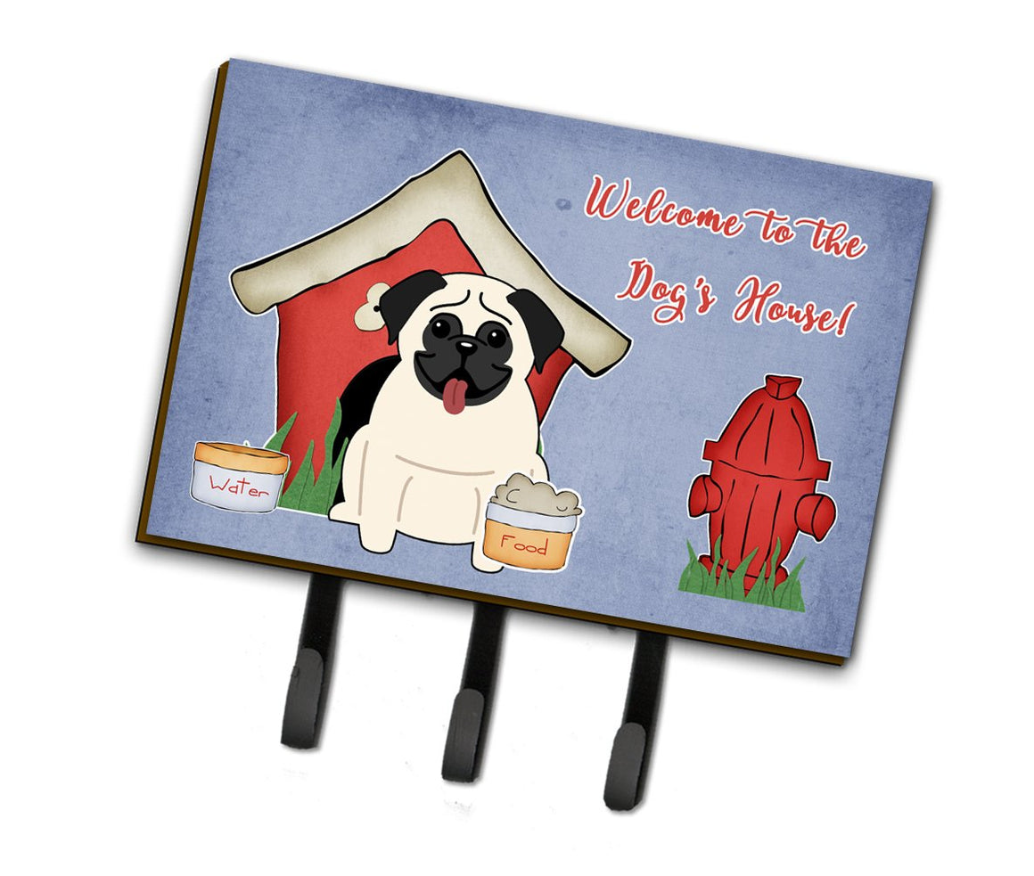 Buy this Dog House Collection Pug Cream Leash or Key Holder BB2758TH68
