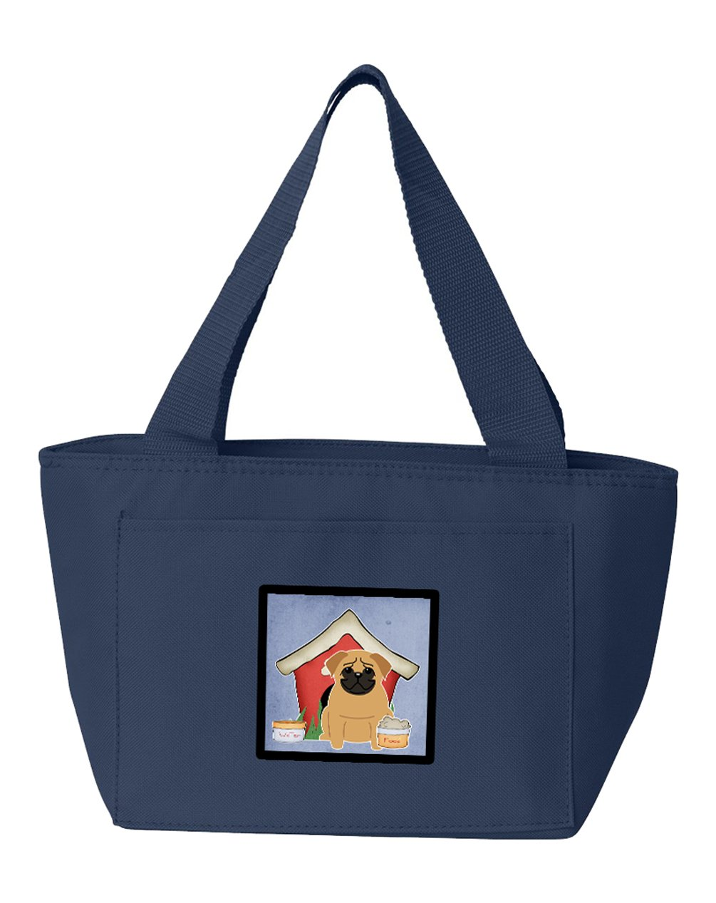Dog House Collection Pug Brown Lunch Bag BB2761NA-8808 by Caroline's Treasures