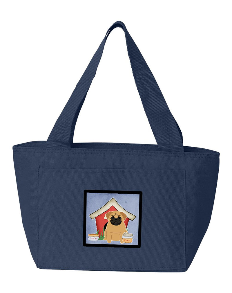 Buy this Dog House Collection Pug Brown Lunch Bag BB2761NA-8808